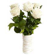 фото Florich Букет долгосвежих роз Белый Бриллиант (228-1841236)