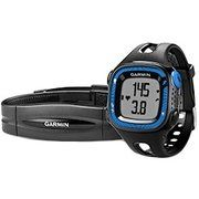 фото Garmin Forerunner 15 Black/Blue Watch With Heart Rate Monitor (010-01241-40)