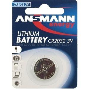 фото Ansmann CR-2032 bat(3B) Lithium 1шт (5020122)