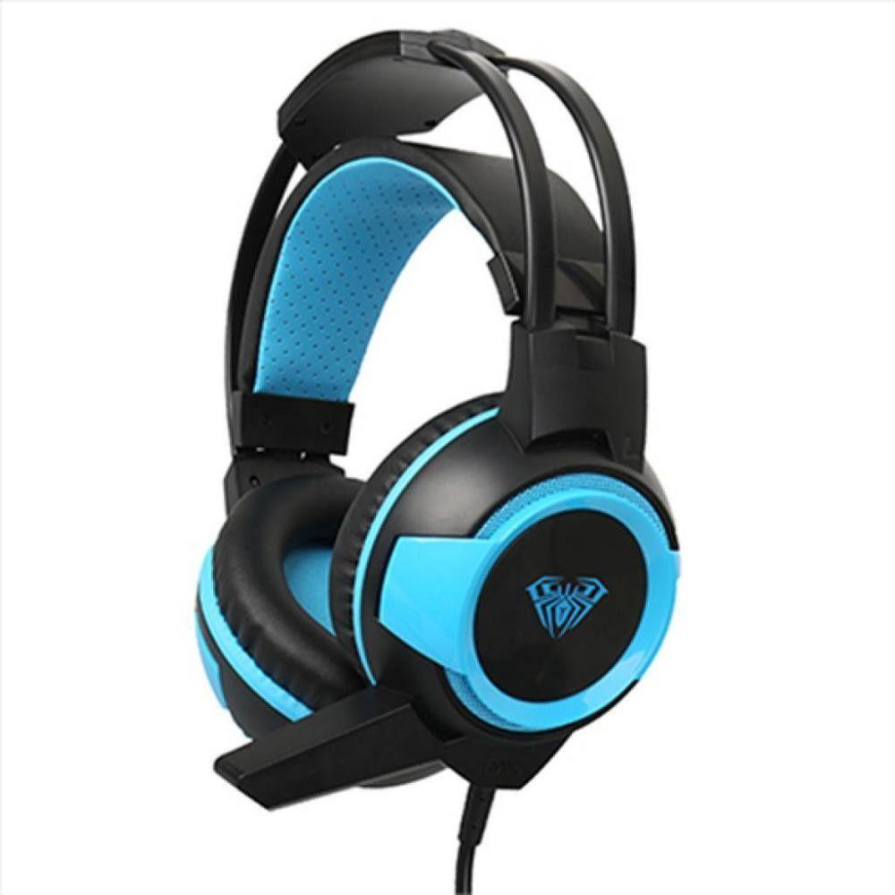 Acme Shax Gaming Headset Black/Blue (6948391232447)
