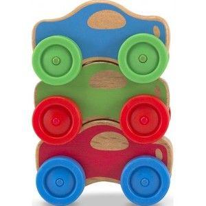 фото Melissa&Doug Сортировка деревянных машинок (4051)