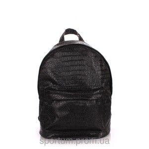 фото Poolparty backpack-pu-leather / croco-black