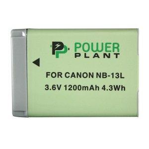 фото PowerPlant Аккумулятор для Canon NB-13L - DV00DV1403