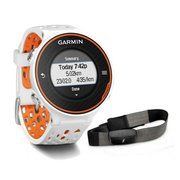 фото Garmin Forerunner 620 White/Orange Watch with HRM-Run (010-01128-31)