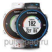 фото Garmin Forerunner 620 White/Orange Watch With HRM-Run (010-01128-41)