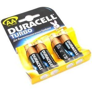 фото Duracell AA bat Alkaline 4шт Turbo 81417102