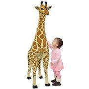 фото Melissa&Doug Огромный плюшевый жираф 1,40 м (2106)