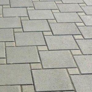 фото Плитка тротуарная Венера 300x300x30 мм серая Тип плитка, размер 300x300x30 мм