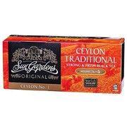 фото Sun Gardens Чай чёрний Ceylon Traditional (25шт*1,7г)