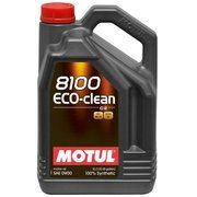 фото Motul 8100 Eco-clean 0W-30 5л