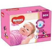 фото Huggies Ultra Comfort 3 для девочек 144 шт