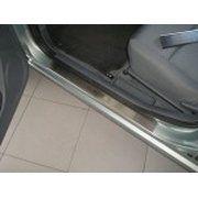 фото Alufrost Накладки на пороги Nissan Almera II 5D 02-06