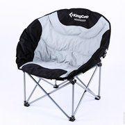фото KingCamp Раскладное кресло Deluxe Moon Chair (KC3889) black/grey