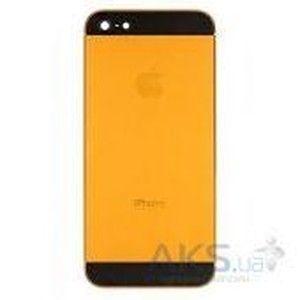 фото Apple Корпус iPhone 5 Оранжевый с черными вставками