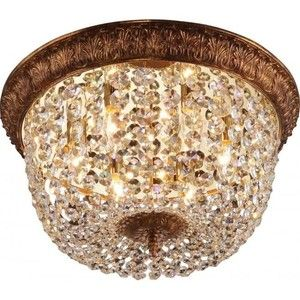 фото Altalusse Подвесной светильник INL-1095C-06 Gold Coffee Foil (8599879100864)