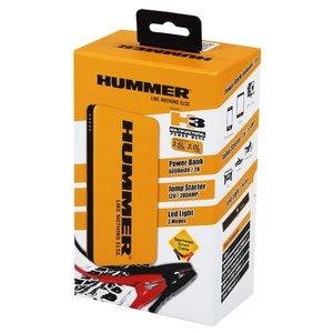 фото Пуско-зарядное устройство Hummer H3 Jump Starter + Power Bank + LED фонарь