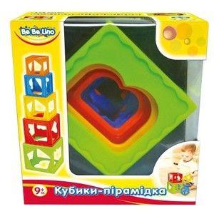 фото Bebelino Кубики-пирамидка (57028)