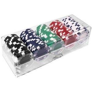 фото Duke Набор для покера: 100 фишек в пластиковом кейсе (100-S5)