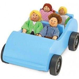 фото Melissa&Doug Дорожная машинка с куклами (2463)