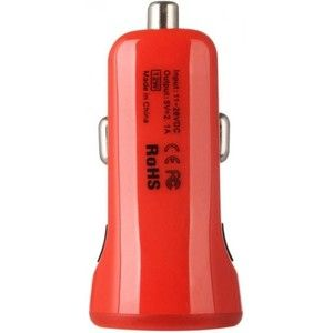фото Baseus 2.1A Dual USB Car Charger Sport Red (CCALL-CR09)