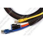 фото JDDTech Кабельная оплетка Self closing braided wrap, самозакрывающаяся (SCW-005-050)
