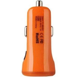 фото Baseus 2.1A Dual USB Car Charger Sport Orange (CCALL-CR07)