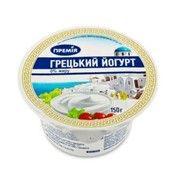 фото Премія Йогурт натуральный Греческий нежирный 150г