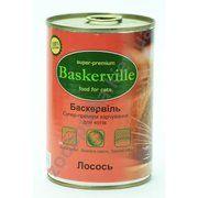 фото Baskerville с лососем 400 г