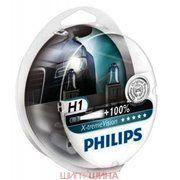 Philips H1 X-tremeVision 12V 55W (12258XVS2)
