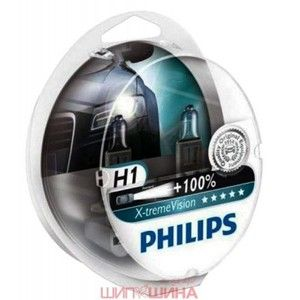 фото Philips H1 X-tremeVision 12V 55W (12258XVS2)