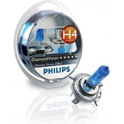 Philips H4 DiamondVision 12V 55W (12342DVS2)