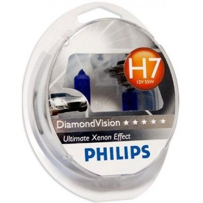 Philips H7 DiamondVision 12V 55W (12972DVS2)