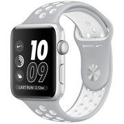 фото Apple Watch Nike+ 42mm Silver Aluminum Case with Silver/White Nike Sport Band (MNNT2)