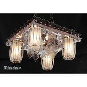 фото Altalusse Потолочный светильник LV217-05 Black/Chrome (8599869001256)