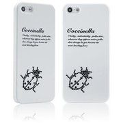 фото STAR5 Insect Story Coccinella White for iPhone 5S/5 (with Swarovski)