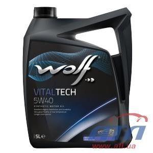 фото Wolf Oil Vitaltech 5W-40 5л