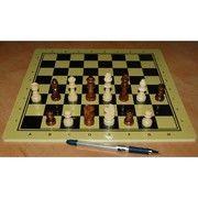 фото China Games Шахматы Школа, 30 x 30 см (доска МДФ, фигуры дерево) (879421)
