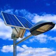 фото Altek Система автономного освещения улицы (ветрогенератор + солнечная панель + LED светильник)