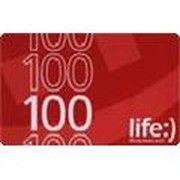 фото lifecell Ваучер пополнения счета Life 100