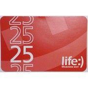 фото lifecell Ваучер пополнения счета Life 25