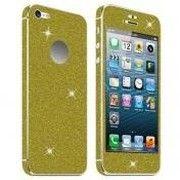 фото Acc. Защитная пленка для iPhone 5/5S Diamond Connex Glitter Skin Gold
