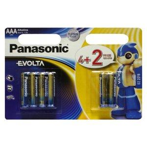 фото Батарейка Panasonic EVOLTA AAA BLI(4+2) ALKALINE