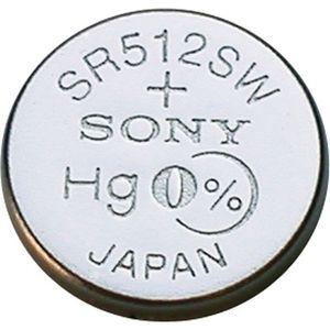 фото Sony SR512SW bat(1.55B) Silver Oxide 1шт