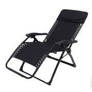 фото KingCamp Шезлонг DeckChair Enlarged Style (KC3903) black