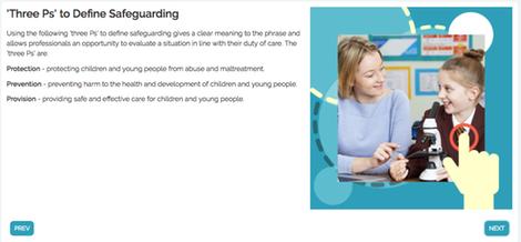 Library safeguarding screenshot