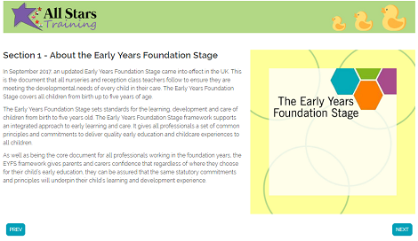 Library early+years+foundation+stage screenshot