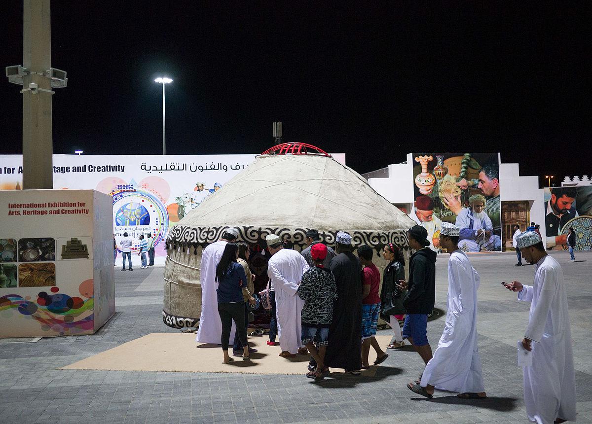 Festival in Oman