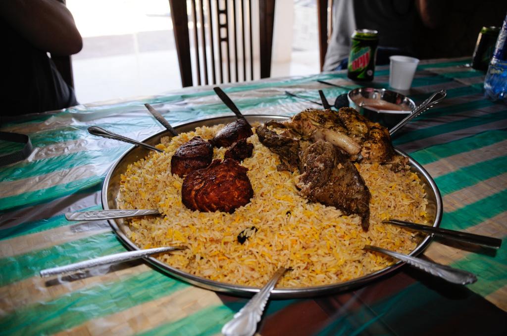 Cibo in Oman