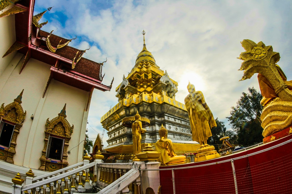 Thailand Templi