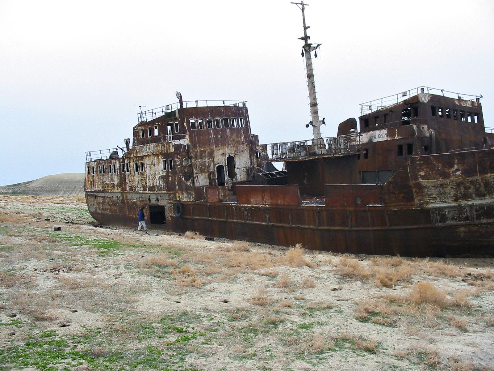 Lago d'Aral, Uzbekistan